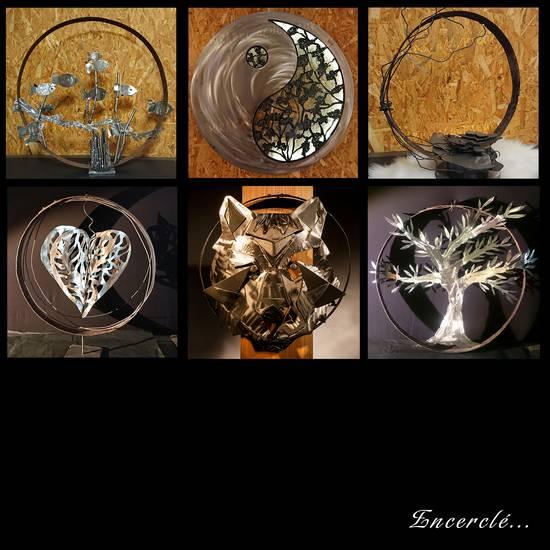 découpe métal pour pièce créative